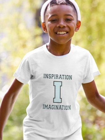 6S1290 Cool Boy In A White Inspiration Imagination Tshirt