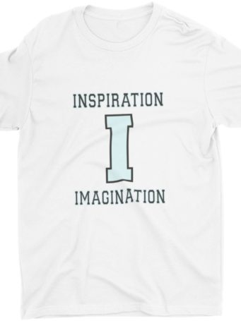 White Inspiration Imagination Tshirt