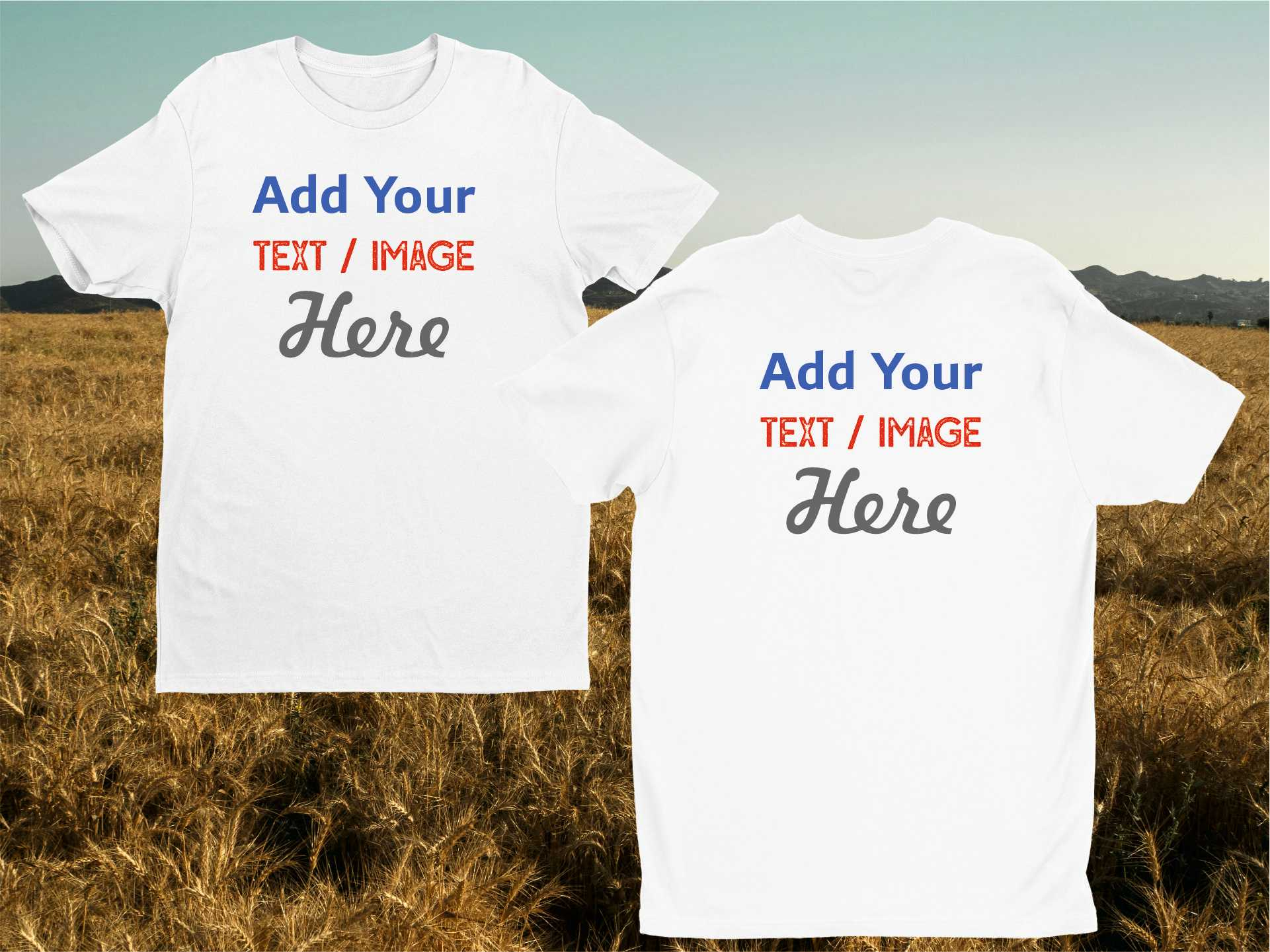 Personalise T-shirts - Boys
